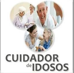 Serviços de cuidadora de idosos