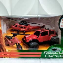 Brinquedo Rescue  force