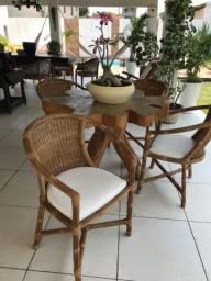 Cadeiras de ratan