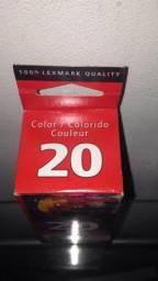 Lexmark 20 Colorido 15m0120 Lex Cartucho Original Novo