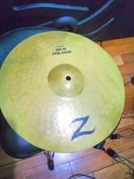 Prato Chimbal Hihat Z Custom Dyno Beat Zildjian Lars Ulrich 14