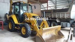 Retro retroescavadeira cat case caterpillar 416f2 416e 580n ano 2019