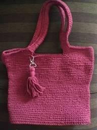 Vendo bolsa em crochê