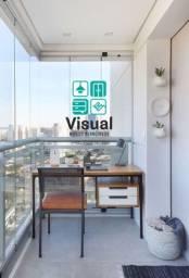 Mesa com designe Minimalista (2 gavetas)