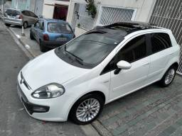 Fiat Punto dualogic teto panorâmico 20.000 + 32 parcelas