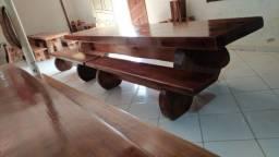 Mesa peça única 4,80 metros Sumauma
