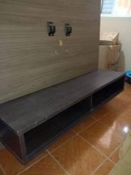 Painel tv em MDF madeira