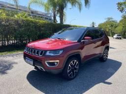 Jeep Compass Limited Turbo Diesel 4x4 Pacote High-tech Apenas 10000km Garantia de fabrica
