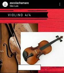 Violino 4/4 novo / Loja da Escola Chamare