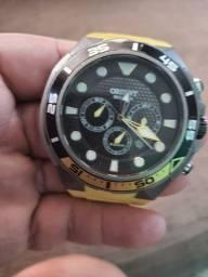Relógio orient titânio