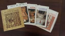Coleção Vinil Discos de Ópera