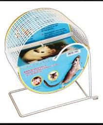 Roda Gira-gira Mini Para Hamster Anão Russo Topolino