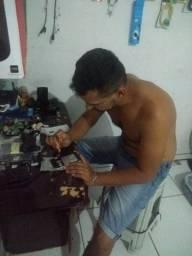 Consertos e acessórios para celular
