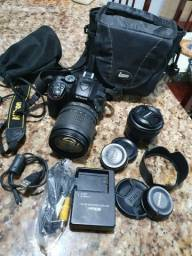 Câmera Nikon D5300 + 2 Lentes
