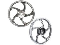 Par de rodas de liga leve Fan 125 Ks Es 2009 a 2020 em Navegantes SC