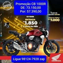 CB 1000 R  Promoção R$ 57.390,00