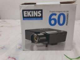 Mini projetor 60 polegadas