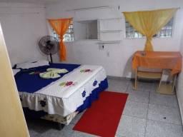 Casa estilo apartº c/ 1 quarto mobiliado, telégrafo, *