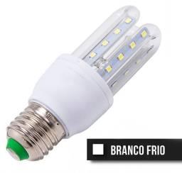 Lampada Led 5w Milho 3u Bulbo Bivolt Branco Frio E27 - 81745