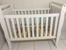 Berço/cama + 2 kit enxoval (Menina) + colchão