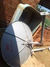 Vendo antena sky em ótimas condições