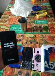 Samsung A50 128GB Semi Novo Caixa Chave V/T