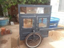Carrinho de pipoca ou carrinho ambulante de camelô a venda