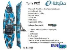 Caiaque individual Tuna Pro da Hidro2Eko