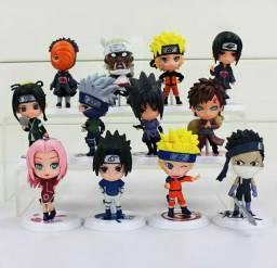 3 pçs/lote Naruto Sakura Kakashi Sasuke Uzumaki Naruto Figuras Variadas