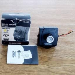Micro câmera analógica com 480 Linhas de resolução