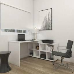 Mesa com 8 nichos para Trabahar ou estudar espaçosa e um luxo - Direto da Fábrica