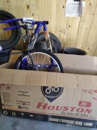 Bicicleta nova aro 26/21marchas