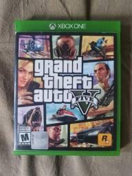 GTA V Xbox one / jogo perfeito com mapa
