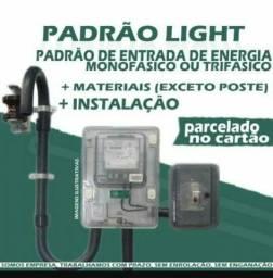 Eletricista credenciado -instalo poste e padrão - aceito cartão