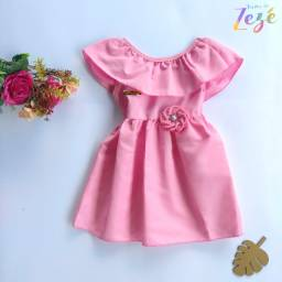 Vestido Infantil Rodado - Vestido para bebês - Vestido Princesa