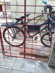 Bicicleta de carga com documento toda no enrolamento pnels novos raio inox grosso só hj