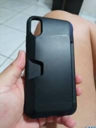 Capa iphone xr porta cartão