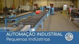Automação Industrial de Pequenas e Médias Indústrias e Fábricas máquinas e equipamentos