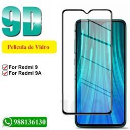 Película 3d para redmi xiaomi 9 e 9A