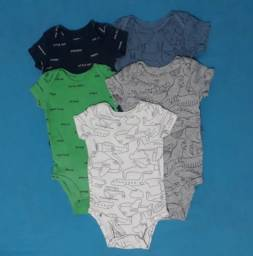 Kit bodies Carter's 1 a 3 meses