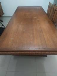 Mesa de madeira boa antiga perfeita