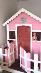 Casinha de brinquedo feito com Pallet.