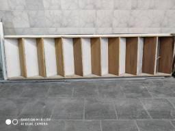 Escada de Ferro com 9 degraus