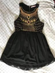 Vestido bordado zinco P