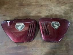 Conjunto Tanque e laterais com logos originais Honda 750 Four K0
