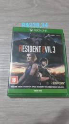 Resident Evil 3 Xbox One Novo Lacrado