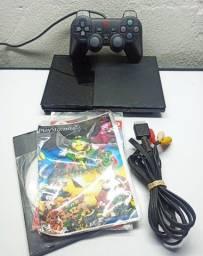 PS2 + Jogos - Parcelo cartão