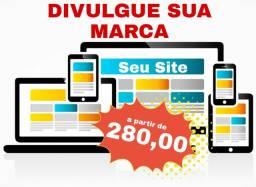 Fazemos seu Site Preço Popular - Divulgue seu Negócio!