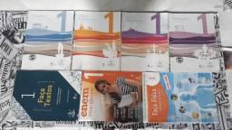Kit completo de livros escola adventista - 1 ano ensino médio