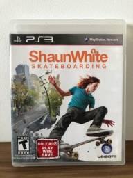 Jogo ShaunWhite Skateboarding- PS3
